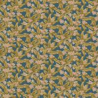 Loseley Velvet Fabric - Airforce Blue