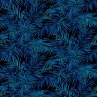Butterfly Palm Fabric - Electric