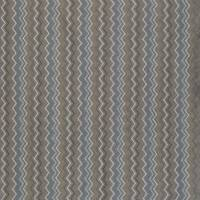 Taggia Fabric - Pewter / Azure / Ivory