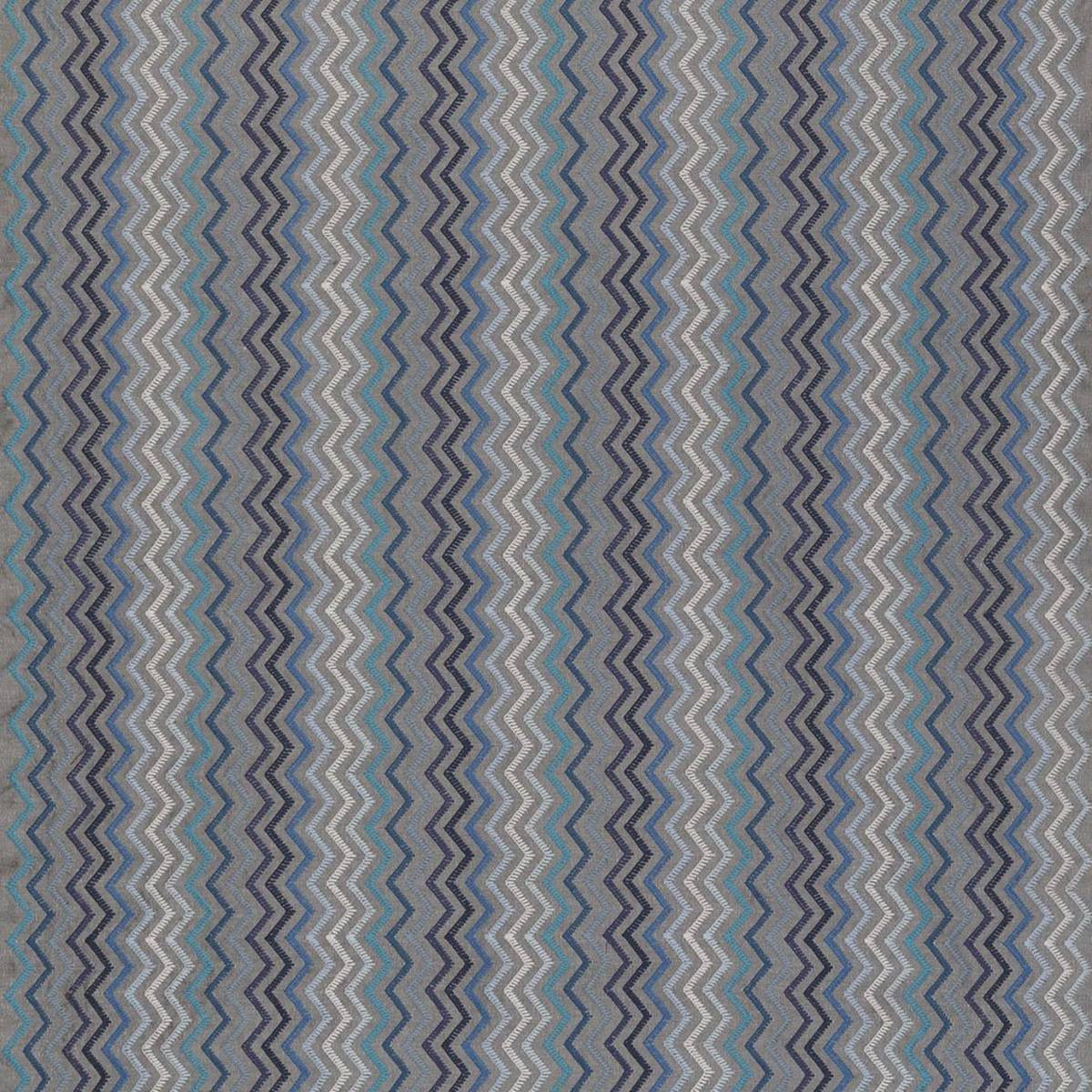 Taggia Fabric - Indigo / Azure (F7174-02) - Osborne & Little ...