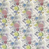 Carlotta Fabric - Aqua / Lemon / Blush