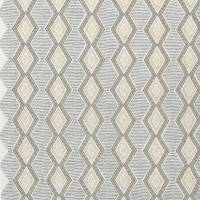 Belle Ile Fabric - Grey / Gold