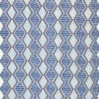 Belle Ile Fabric - Indigo / Blue