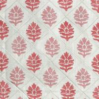 Camille Fabric - Coral / Pink