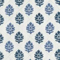Camille Fabric - Indigo / Blue