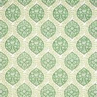 Marguerite Fabric - Green / Ivory