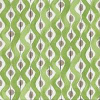 Beau Rivage Fabric - Green / Beige