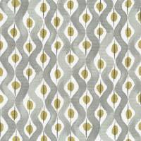 Beau Rivage Fabric - Dove / Gold
