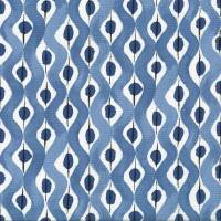 Beau Rivage Fabric - Blue / Indigo