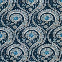 Les Indiennes Fabric - Blue