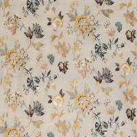 Nemours Fabric - Yellow / Aqua / Chocolate