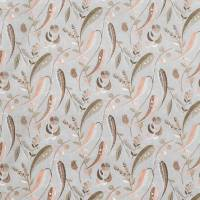 Colbert Fabric - French Grey / Pink