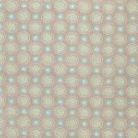 Garance Fabric - Taupe / Aqua / Yellow