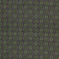 Garance Fabric - Green / Black