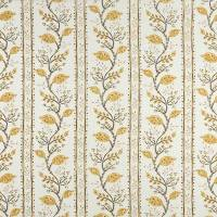 Pomegranate Trail Fabric - Ochre / Tobacco / Ivory