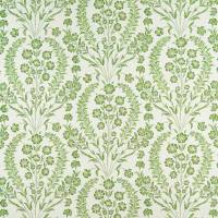 Chelwood Fabric - Green / Ivory