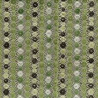 Flyte Fabric - Green / Chocolate