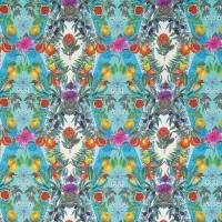 Talavera Fabric - Persian Blue / Turquoise