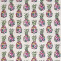 Ananas Fabric - Cerise / Lemon / Mint