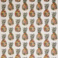 Ananas Fabric - Terracotta / Coral / Grass