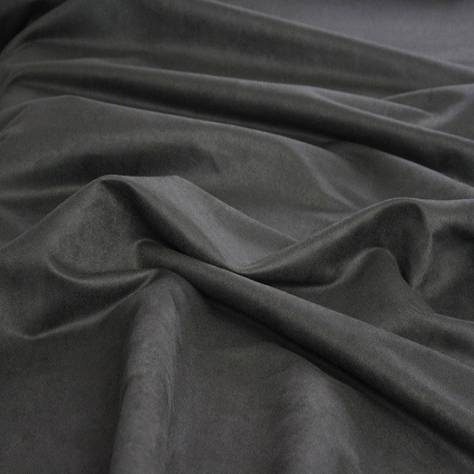 Ambassador Textiles Faux Suede Fabrics Faux Suede 225 Fabric - Charcoal - 0227CHA