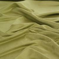 Faux Suede 225 Fabric - Olive