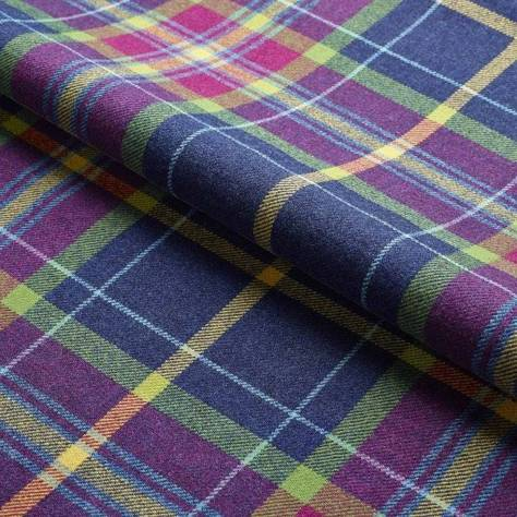 Ambassador Textiles The Glen Mor Fabric Collection Braemar Fabric - Multi - 0125GMBR