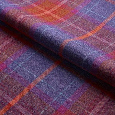 Ambassador Textiles The Glen Mor Fabric Collection Oban Fabric - Multi - 0125GMOB