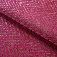 Zultan Chevron Fabric - Fuchsia
