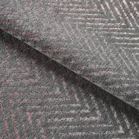 Zultan Chevron Fabric - Smoke