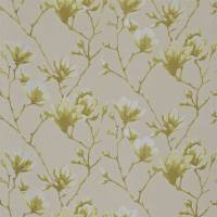 Lotus Fabric - Linden/Sepia