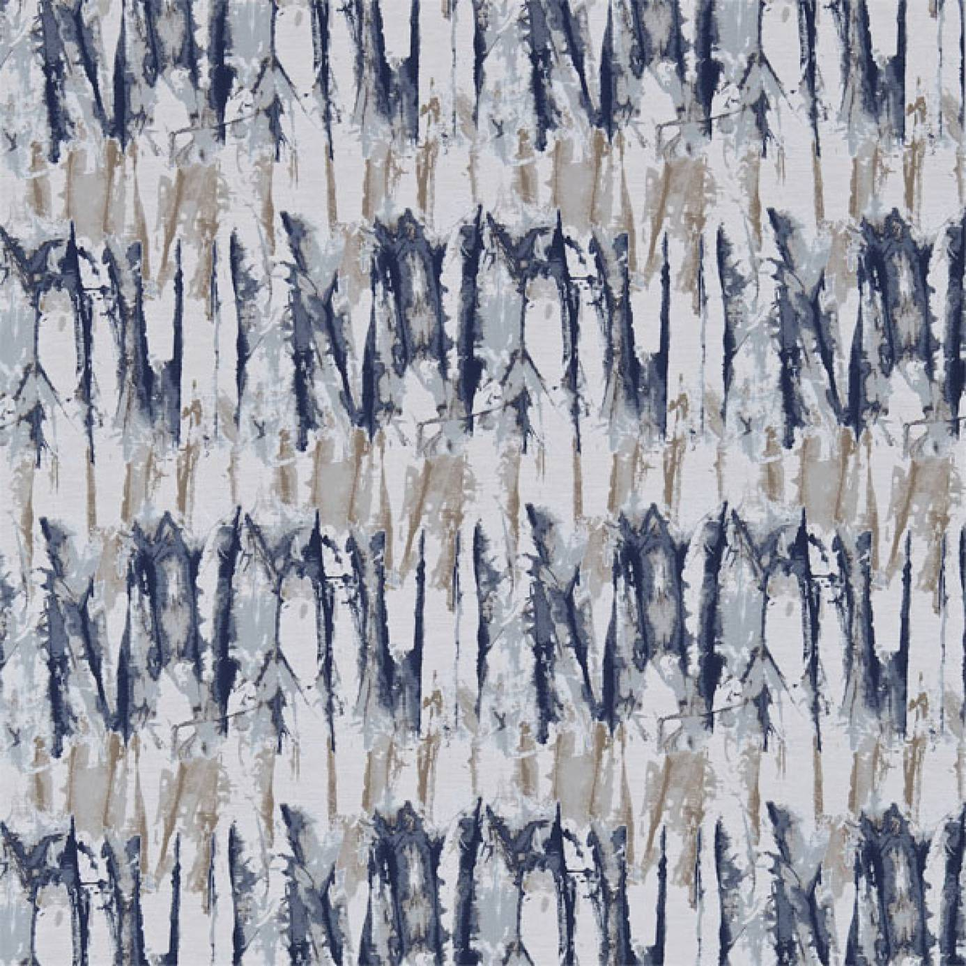 Islamic Home Decor Uk Curtains In Takara Fabric Indigo Denim 131369