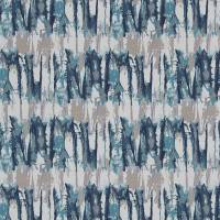 Takara Fabric - Teal/Ink