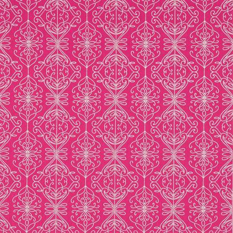 Harlequin Amazilia Fabrics Java Fabric - Flamingo/Peach - 131518