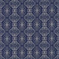 Java Fabric - Indigo/Pink