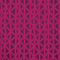 Rumbia Fabric - Flamingo/Loganberry