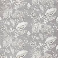 Amborella Silk Fabric - Steel