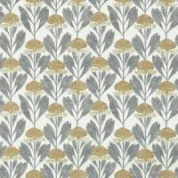 Protea Fabric - Almond/Slate