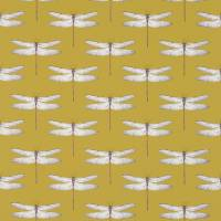 Demoiselle Fabric - Chartreuse/Grape