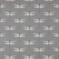 Demoiselle Fabric - Graphite/Almond