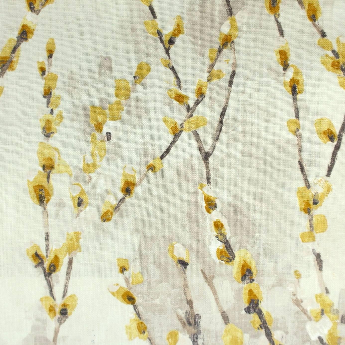 Salice Fabric Mustard 120513 Harlequin Fauvisimo