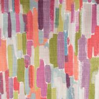 Trattino Fabric - Ocean/Lime/Fuchsia
