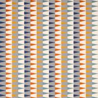 Azul Fabric - Rust/Navy/Nordic