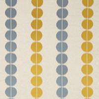 Lomita Fabric - Gold/Nordic Blue