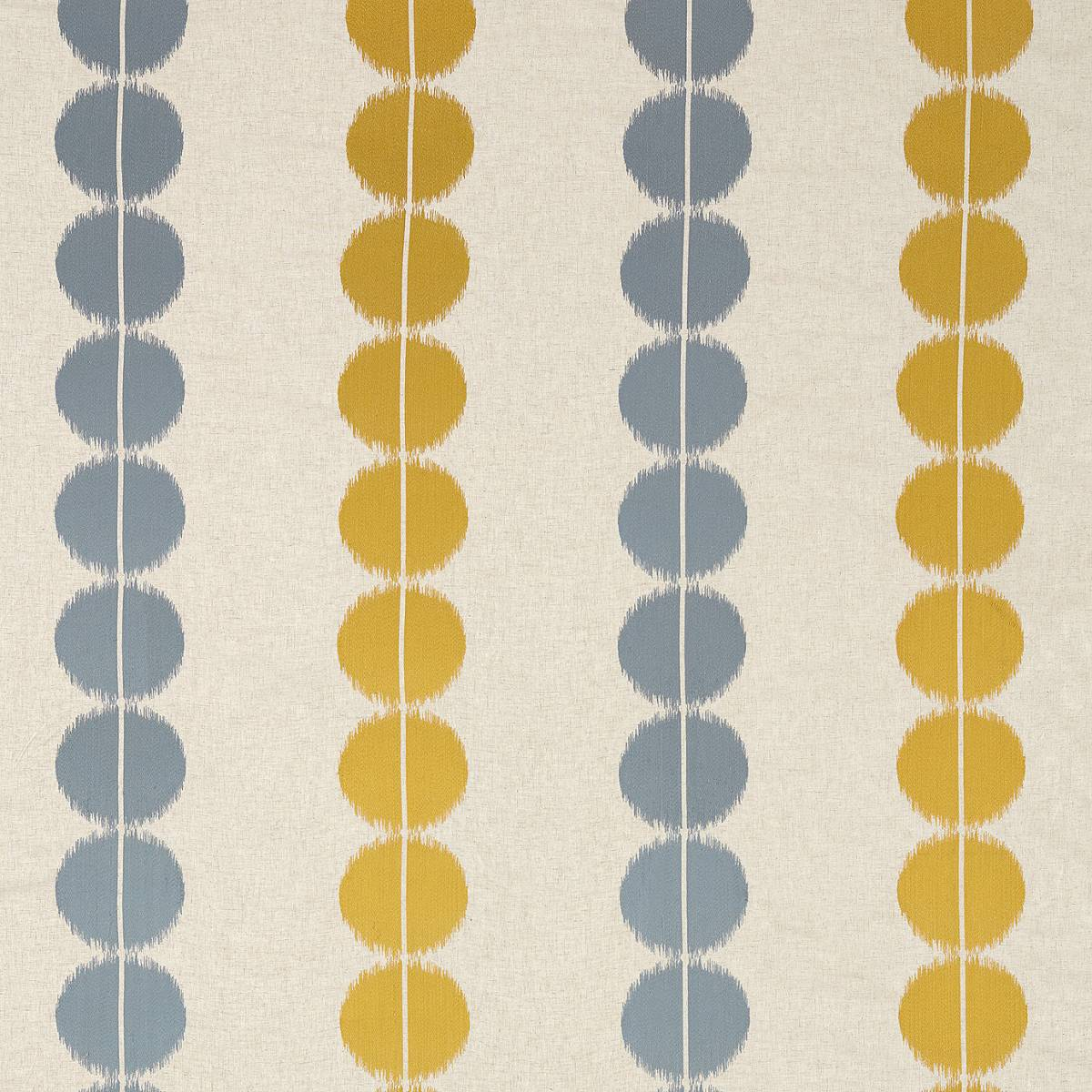 Lomita Fabric Gold Nordic Blue 132024 Harlequin