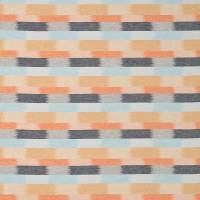 Utto Fabric - Rust/Navy/Sky