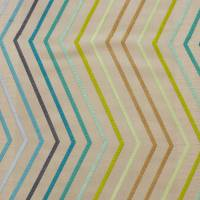 Tresillo Fabric - Teal/Lime/Mint
