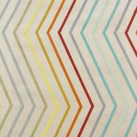 Tresillo Fabric - Ruby/Mint/Rust
