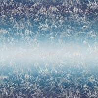 Meadow Grass Fabric - Denim/Indigo