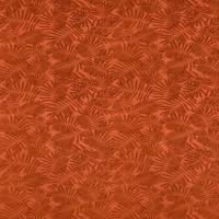 Espinillo Velvet Fabric - Tigerlilly/Gold